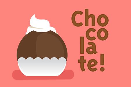 Cute chocolate Illustration