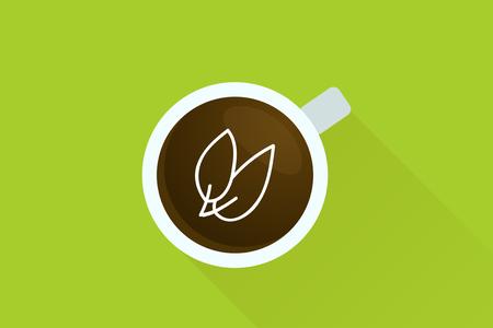 top menu: Coffee & Nature icon