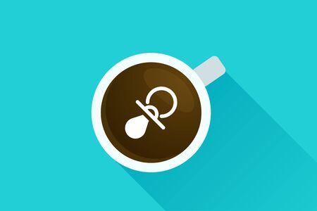 top menu: Coffee & icon