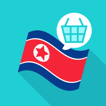 North Korea Flag vector illustration