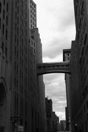 new york bridge Stock Photo