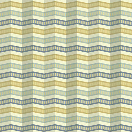 ripple effect: Seamless zigzag pattern with a ripple effect on the background in retro colors