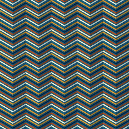 rippled: Seamless pattern a zig-zag con un effetto increspato su uno sfondo scuro
