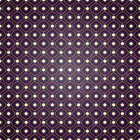 Seamless geometric pattern on purple grunge background, vector illustration for your design Vector