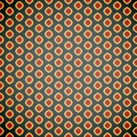 trendy tissue: Seamless geometric pattern in retro colors, vector illustration background for your design Illustration