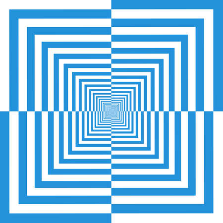 opt: Streszczenie niebieskim tle w opt stylu art, ilustracji wektorowych