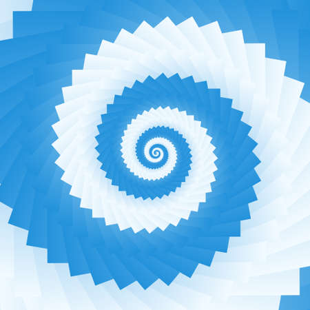 Abstract twirl background in opt art style, vector illustration