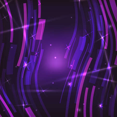 Abstract technology waves background. Vector illustration