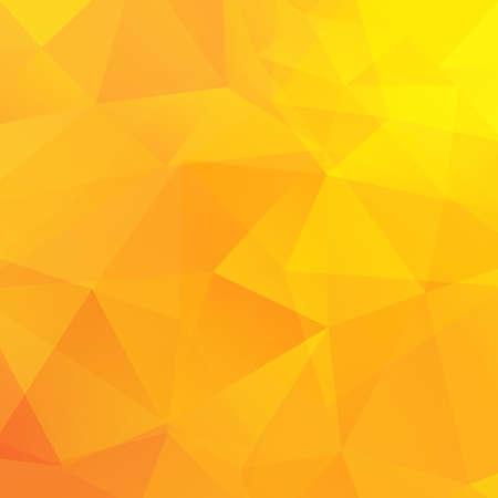 abstracto: Resumen triángulos amarillos fondo. Ilustración vectorial