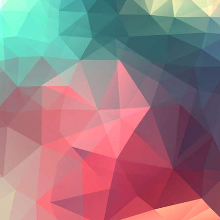 Abstract colorful triangles vector background Vector