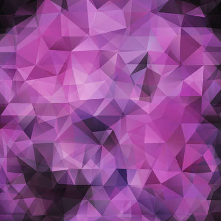 Abstract pink triangles vector background Vector