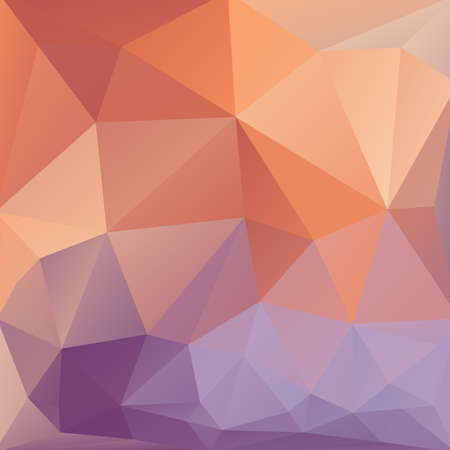 Abstract colorful background of triangles. Vector illustration Vector