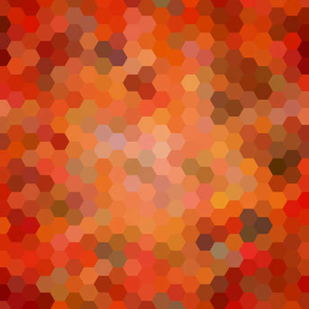 scrunch: Abstract colorful background of hexagons. Illustration
