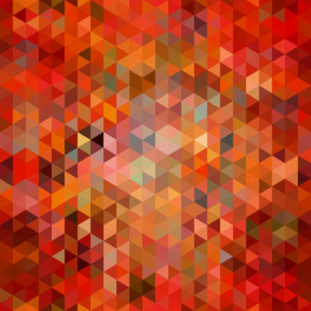 Abstract seamless background of triangles. Vector illustration