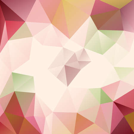 scrunch: Abstract colorful background of triangles.