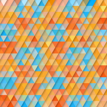 Abstract background of triangles. Vector illustration Vector