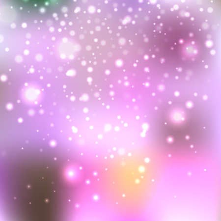 orion: Bright shining with particles on blurred background. Vector illustration for your design Illustration