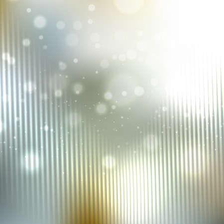 a glamour: Bright shining with particles on blurred background. Vector illustration for your design Illustration