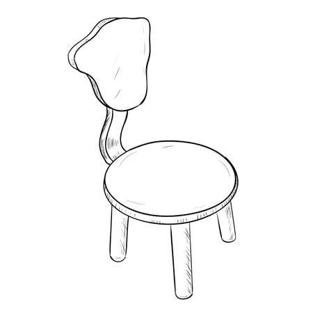 Stuhl Zeichnen