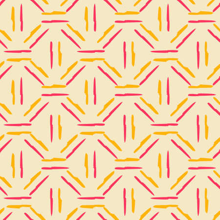 Seamless colorful pattern. Vector background with flat style knife