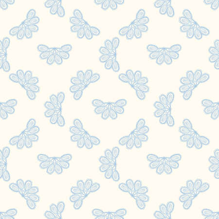 floral: Seamless colorful pattern vector illustration