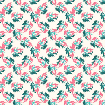 simple background: Seamless colorful pattern. Vector background with grunge doodles Illustration