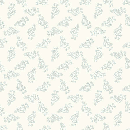 simple background: Seamless colorful doodle pattern. Abstract floral wallpaper. Vector background. Patterned paper for scrapbook albums