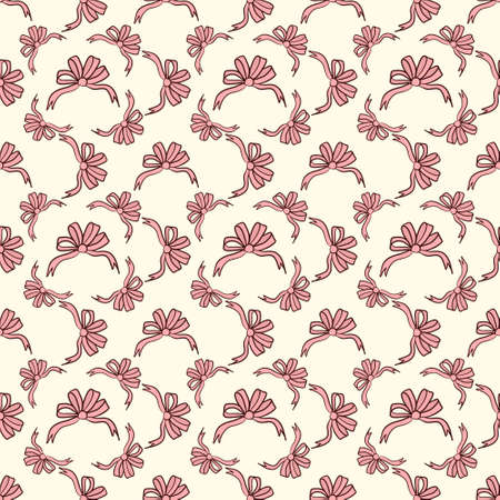 simple background: Seamless colorful pattern. Vector background with ribbons