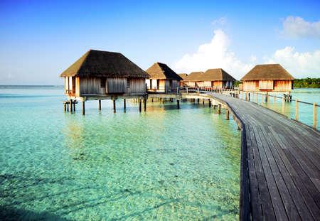 indian ocean: Maldives Water Villa Editorial