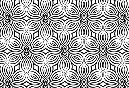 vector wallpaper: seamless floral pattern, vector wallpaper