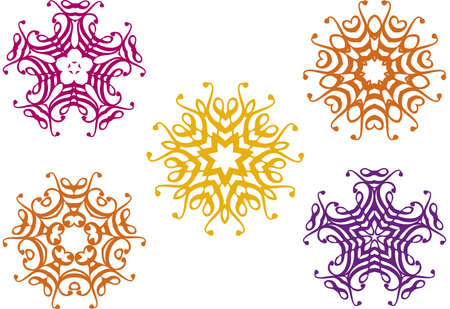 floral designs Stock Vector - 2908582
