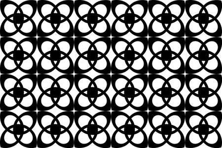 abstract seamless pattern, vector wallpaper  Stock Vector - 3085418