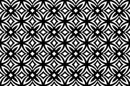 repeated: seamless floral pattern, vector wallpaper