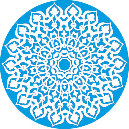 rosette: caleidosc�pica patr�n floral  Vectores