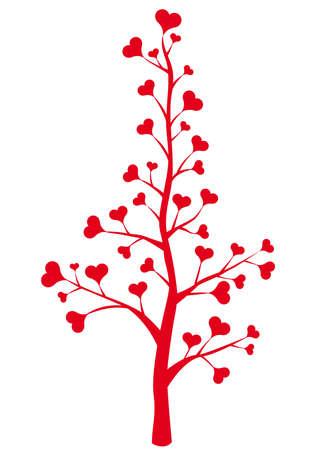 heart flower, floral vector background Stock Vector - 6258241