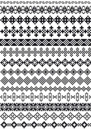 pixel divider, pattern Vector
