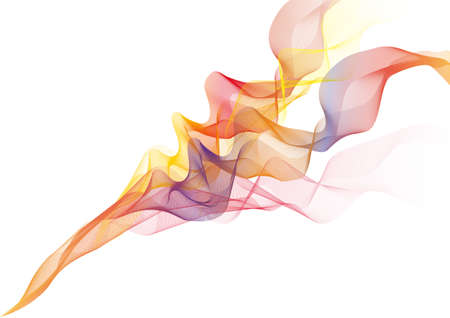 soft fire flames with smoke,  background Stock Vector - 7275021