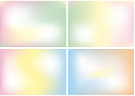 abstract smooth color mix, background Vector
