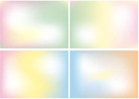 mélange de couleur lisse abstraite, arrière-plan Vecteurs