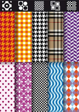 seamless fashion fabric patterns
