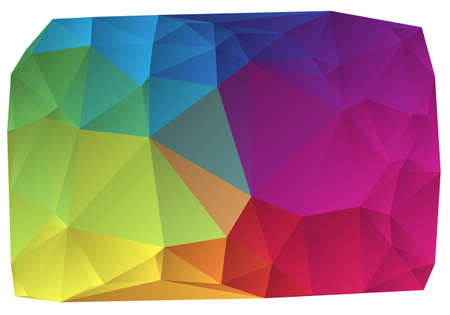 abstract wrinkled colorful vector background Stock Vector - 12867761