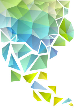 fragment: abstract geometric polygon background