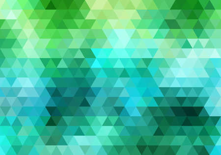 abstract colorful geometric vector background, triangle pattern