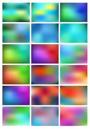 Abstract colorful gradient square pattern.
