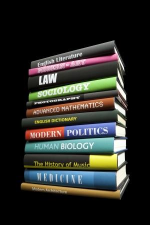 pile of books: Real book soggetti su nero