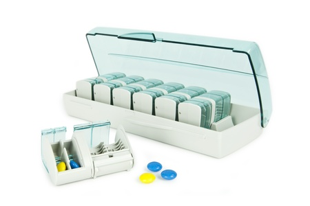 Pill dispenser Stock Photo - 9313433