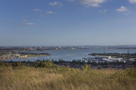 Portsmouth Harbour and the Solent