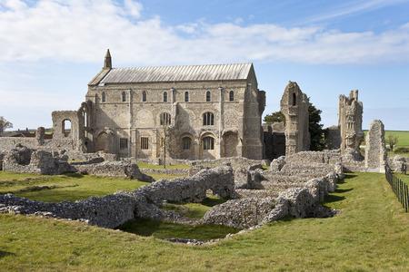priory: Binham Priory in Norfolk, UK Stock Photo