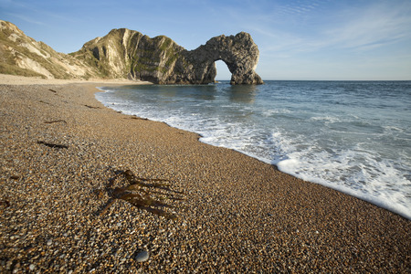 Durdle Door on the Isle of Purbeck, Dorset, England