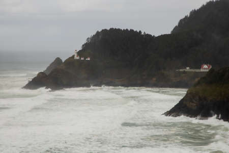 Heceta Head is one of the most beautiful lighthouses in the world. The Heceta Head Lighthouse and Light Keeper's home are circa 1894. Both are listed on the National Register of Historic Places.